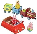 NUOVO Peppa Pig Weebles e veicolo AFFARE GIOCHI Fun Time
