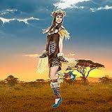 Kostümplanet Afrikanerin Kostüm Afrika Damen Afrikanerinkostüm Größe 40/42 Vergleich