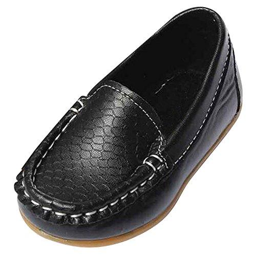 hibote 2016 Kid Schuhe Girls Boys Schuhe Unisex Mode Turnschuhe Weich Leder Running Schuhe (Baby Boy Schuhe)