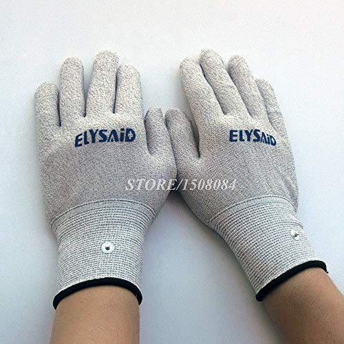 c7e80fe20 Q3 MARKET Q3 Conductive Silver Fiber TENS/EMS Electrode Therapy Gloves+Socks+Knee  Pads 3Pairs/Set Electrotherapy Unit For Phycical Therapy