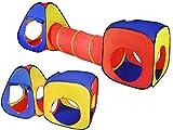 Kinderzelt Krabbeltunnel Spieltunnel Kriechtunnel Tunnel Zelt Kinder Spielzelt Neu 3in1