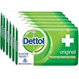 Dettol Original Soap - 125 g (Pack of 6)