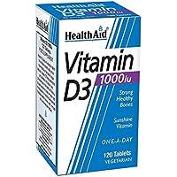 HEALTHAID Vitamin D3 Tablets, 120 g preisvergleich bei billige-tabletten.eu