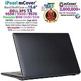 Noir Cover Coque pour 15.6' Dell XPS 15 Modèle 9570/9560/9550/Precision 5510 Serie...