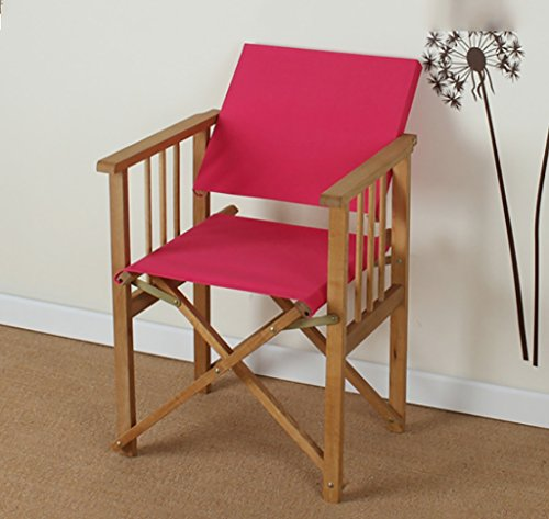 DCCYZ-YJ Folding ULM Director\'s Chair - Made in China - Außenmöbel (Farbe : C)