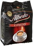 Darboven Kaffee Alberto Espresso Pads36er, 2er Pack (2 x 252 g)