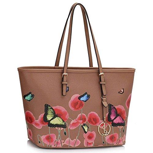 Trendstar Frau Entwerfer Handtaschen Damen Berühmtheit Stil Neu Imitat Leder Für Leinentrage Taschen (Nackte Dame-box)