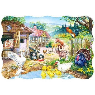 CASTORLAND Farm (30 Pz.) Puzle (1503136)