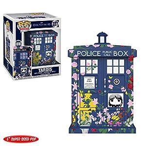 "Funko Pop! 6"" Doctor Who- Tardis- Clara Memorial"