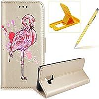 Mädchen Schönen Bling Glitzer Pink Flamingo Malerei Muster Hüllen Für Samsung Galaxy A8 Plus 2018, Herzzer Rundum... preisvergleich bei billige-tabletten.eu