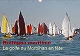 Bretagne maritime Le golfe du Morbihan en fete 2020: Flottilles de voiliers dans Le golfe du Morbihan...