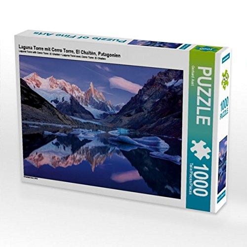 Laguna Torre mit Cerro Torre, El Chaltén, Patagonien 1000 Teile Puzzle quer (CALVENDO Natur)