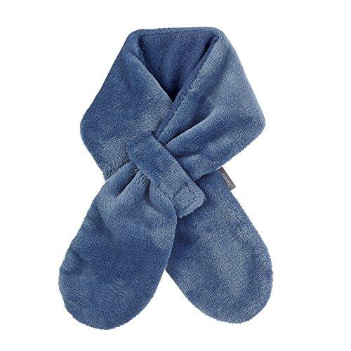 Sterntaler Fleece-Schal mit Klettverschluss, Größe: S, Blau (Tintenblau)