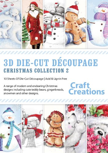 craft-creations-3d-die-cut-decoupage-collections-pk765-christmas-collection-2-a4-sheets-10-mixed-des