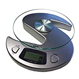 GundG KS - Bilancia digitale da cucina/lettere, funzione tara, precisa al grammo fino a 6 kg, colore: Argento Prezzo e prestazioni strabilianti! La migliore qualità al miglior prezzo, da G&G