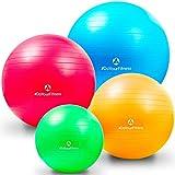 Gymnastik-Ball »Pluto«/Robuster Sitzball und Fitnessball mit 65cm Durchmesser/Verschiedene Farbe
