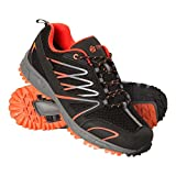Mountain Warehouse Enhance Waterproof Men's Running Sneakers - Breathable Casual Shoes, Soft, Comfortable Walking Shoes, Durable Mens Shoes - Footwear for Everyday Use