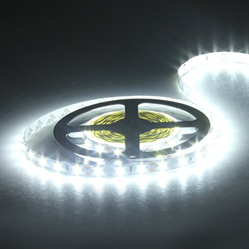 24V LED LEISTE Weiß WASSERDICHT 5m 300 LED STREIFEN STRIP LICHTER AUTO LKW KFZ