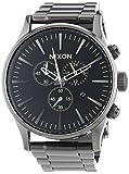 Nixon Sentry Chrono - Reloj de cuarzo color negro
