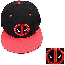 Sunkee Deadpool Máscara Cosplay Del Juego Máscara Fresca (Sombrero A)