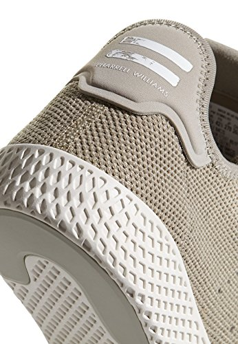 adidas Pharrell Williams Tennis hu Herren Sneaker Grün Beige (Tech Beige/Chalk White)