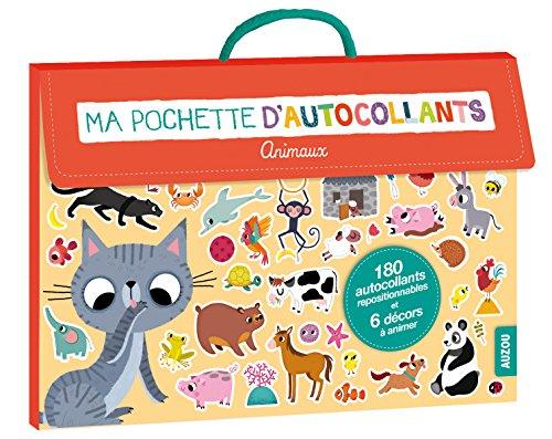 ma pochette d'autocollants - animaux (nouvelle ed) (coll. ma pochette d'artiste)