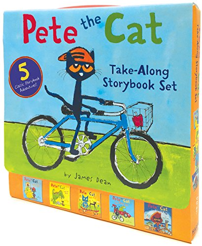 Pete the Cat Take-Along Storybook Set: 5-Book 8x8 Set por James Dean
