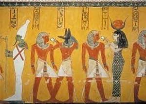 Editions Ricordi Gold 2801N24008 Arte Egipcio, Divinità nel vestibolo - Puzzle (1000 Piezas)