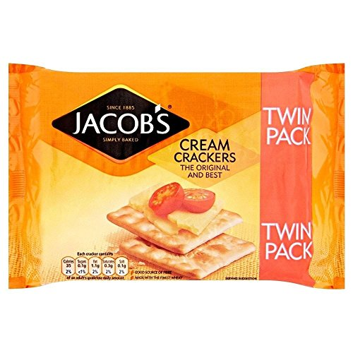 Jakobs Cream Crackers TWIN PACK 2X200g (Cracker Snack-packs)