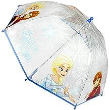"""Disney Frozen 2400000267 Paraguas Infantil, diseño de """" Frozen Anna & Elsa Snowflake, diámetro"""
