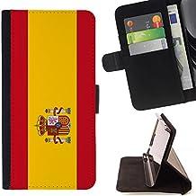 STPlus España Bandera española Monedero Carcasa Funda para Sony Xperia M2