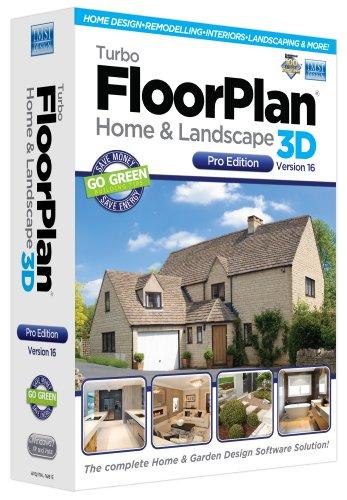 Turbo FloorPlan Home & Landscape Pro V16 (PC)