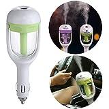Toku Travel Portable 2 in 1 Portable Car Plug Air Humidifier & Car Fragrance Diffuser (Random Colour)