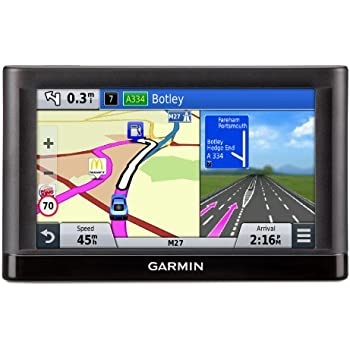 Garmin Nuvi LM Inch Satellite Navigation With UK And Ireland - Free us map for garmin nuvi 55
