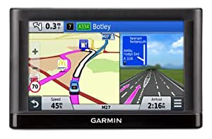 Garmin Nuvi 55LM 5 inch Satellite Navigation with UK and Ireland Maps (Free Lifetime Map Updates)