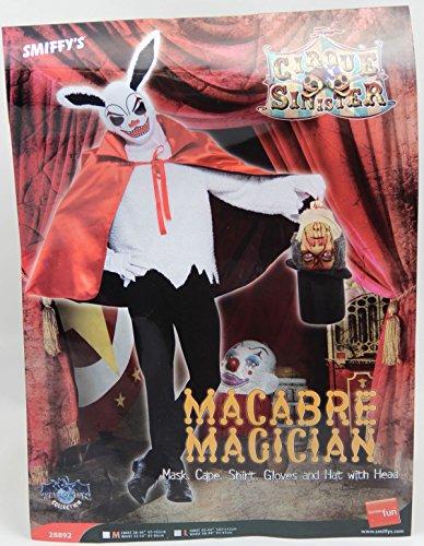 Größe:L (Zauberer Und Hase Halloween Kostüm)