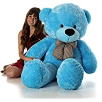 AGGALLERY 3 Feet Very Cute Long Soft Huggable Lovely Teddy Bear Best for Anniversary, Birthday & Valentines Gift . (Blue…