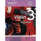 Trinity College London: Violin Exam Pieces - Grade 3 (2016-2019) (Score, Part & CD). Partitions, CD pour Violon, Accompagnement Piano