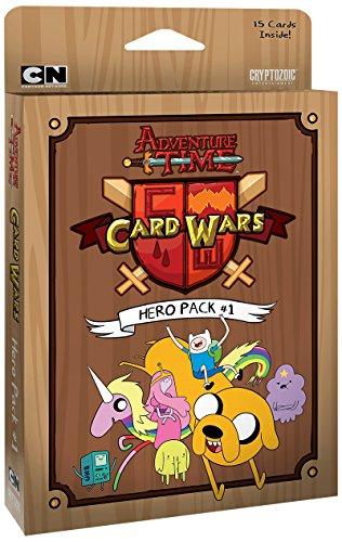 Cryptozoic Entertainment - 330364 - Jeu De Cartes - Adventure Time Card Wars - Hero Pack #1