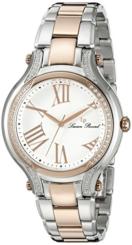 Lucien Piccard Womens Analogue Quartz Watch with Stainless Steel Strap LP-16353-SR-22