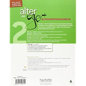 Alter Ego. Niveau A2+ . Livre De L'Élève (+  CD)