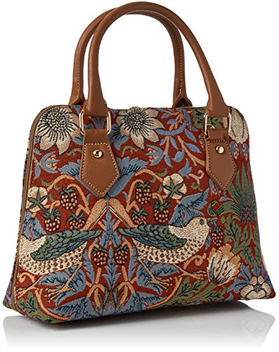 Willam Morris Tapestry Fashion Handbag / Shoulder bag in Strawberry Thief