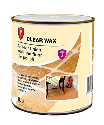 LTP klar Wachs 1Liter–Wand & Boden Fliesen Polish