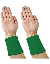Accessotech 2 x Bandeau Poignet Sports Tennis Squash Badminton Gym Bracelet Exercice Compatible avec