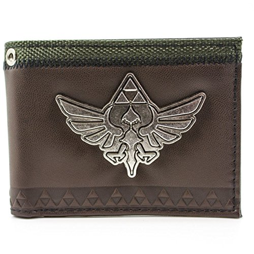 Nintendo Legend of Zelda Skyward Sword Marrone portafoglio