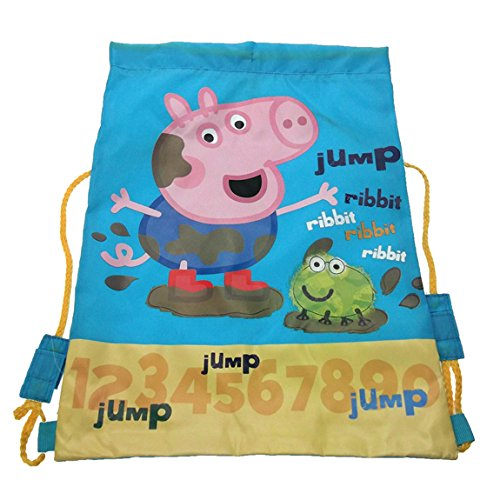George From Peppa Pig Muddy Puddle Trainer Bag Peppa Pig Trainer