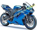 Hot Sales, für Kawasaki ZX-6R 07/08Ninja ZX636ZX 6R 636ZX6R 2007/2008alle blau Body Works ABS Verkleidung Set (Spritzguss)