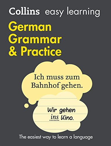 Easy Learning German Grammar and Practice (Collins Easy Learning German) por Collins Dictionaries