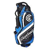 Cleveland C0089617 Bolsa de Carro de Golf, Hombre, Negro/Azul / Blanco, Talla Única