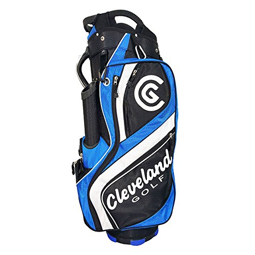 Cleveland Golf männlich CG Cartbag, schwarz/blau/weiß -